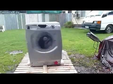 Как испортить стиральную машину