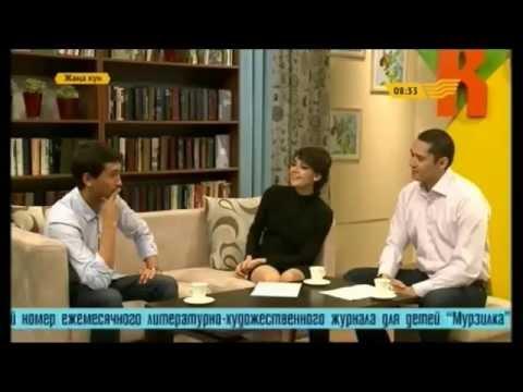 """Актер Жандос Айбасов - гость студии """"Жаңа күн"""""""