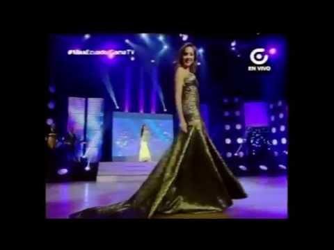 Karen Paredes Miss Tourism World Ecuador 2014