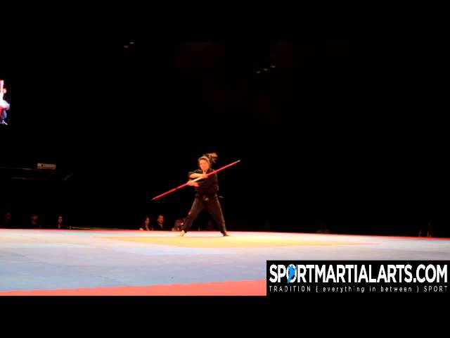 Marie Anne Ouellet Women's Weapons Overall at the 2013 Quebec Open Finals