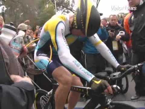 Lance Armstrong on SRAM 2009 Tour of California