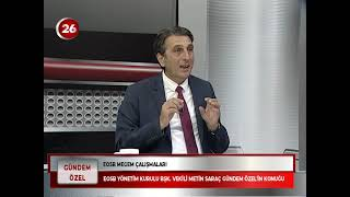 Gündem Özel | Metin Saraç EOSB Başkan Vekili