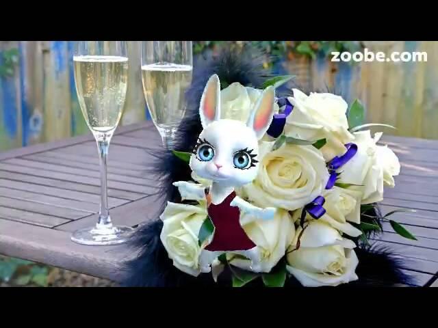 Поздравление от зайки zoobe с днем рождения