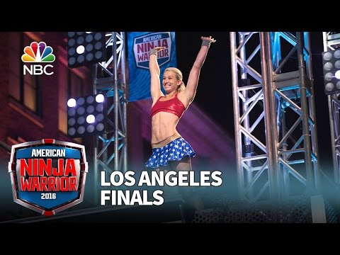 Jessie Graff at the Los Angeles Finals - American Ninja Warrior 2016