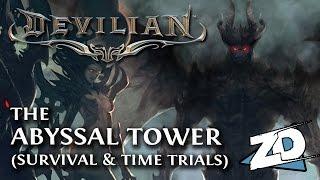 Devilian: ABYSSAL TOWER Gameplay (Evoker) Endgame Survival / Time Trial Mode