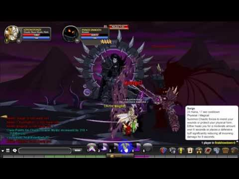 Rise of Queen of monsters AQW and facing all 13 chaos lords