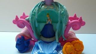 Đồ Chơi Đất Nặn Play- Doh Cô Bé Lọ Lem (Bí Đỏ) Cinderella Magical Carriage Play - Doh New