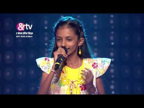 Shreya Sings Bahara   Blinds   Sneak Peek   The Voice India Kids   Sat-Sun 9 PM