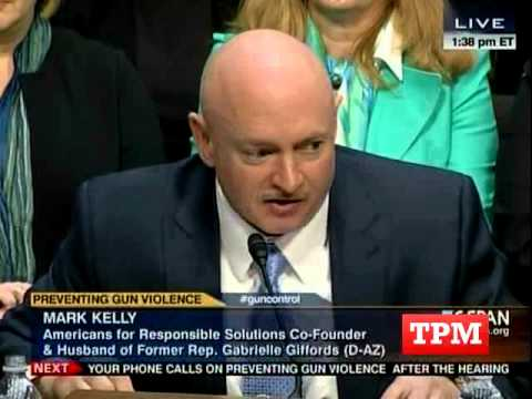 Mark Kelly Breaks News Of Phoenix Shooting During Senate Gun Hearing