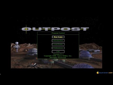 Outpost gameplay (PC Game, 1994)