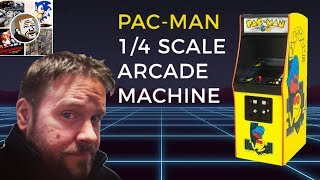 New Mini Pac Man Arcade Machine Revealed - Quarter Arcades (1/4 Scale)