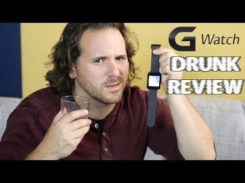 LG G Watch - Drunk Tech Review