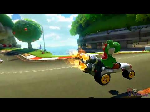 Mario Kart 8: Yoshi's Circuit Trailer Review!! (November DLC)