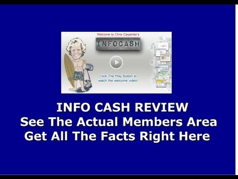 Info Cash Review Does Chris Carpenter's New Version Of Google Cash Work Or Is It A Scam?