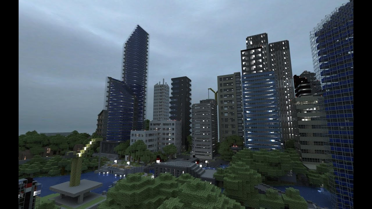 Minecraft Xbox 360 City Seed Perfect For Building