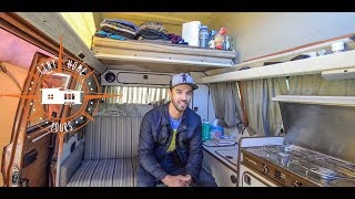 Living Full Time In An Off The Grid 1982 VW Van ~ Full Tour ~ Alaskan Tour Guide