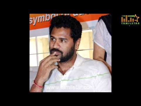 Prabu Deva at Sridevi's home in Mumbai