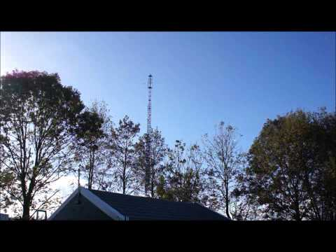 23 Meter high antenna tower