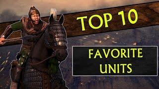 My Top 10 FAVORITE UNITS in Total War: Attila