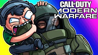 COD Modern Warfare Funny Moments - We're Terrible At Spec Ops Mode!