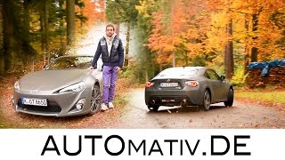 Toyota GT86 (2016) Review und Test (200 PS, 2.0 Boxer-Vierzylinder)