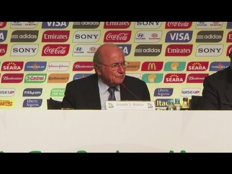 2013 Confederations Cup - Blatter: 'Everything will be ready on time'