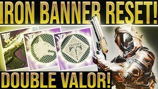 Destiny 2 Weekly Reset. IRON BANNER/DOUBLE VALOR! Nightfalls, Weapon Forges, New Projections & More!