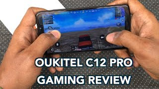 Oukitel C12 Pro PUBG (I WON!) Gaming Review and Battery Drain Reading