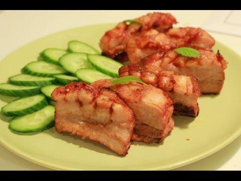 Свиные ребрышки в духовке. Рецепт свиных ребрышек.