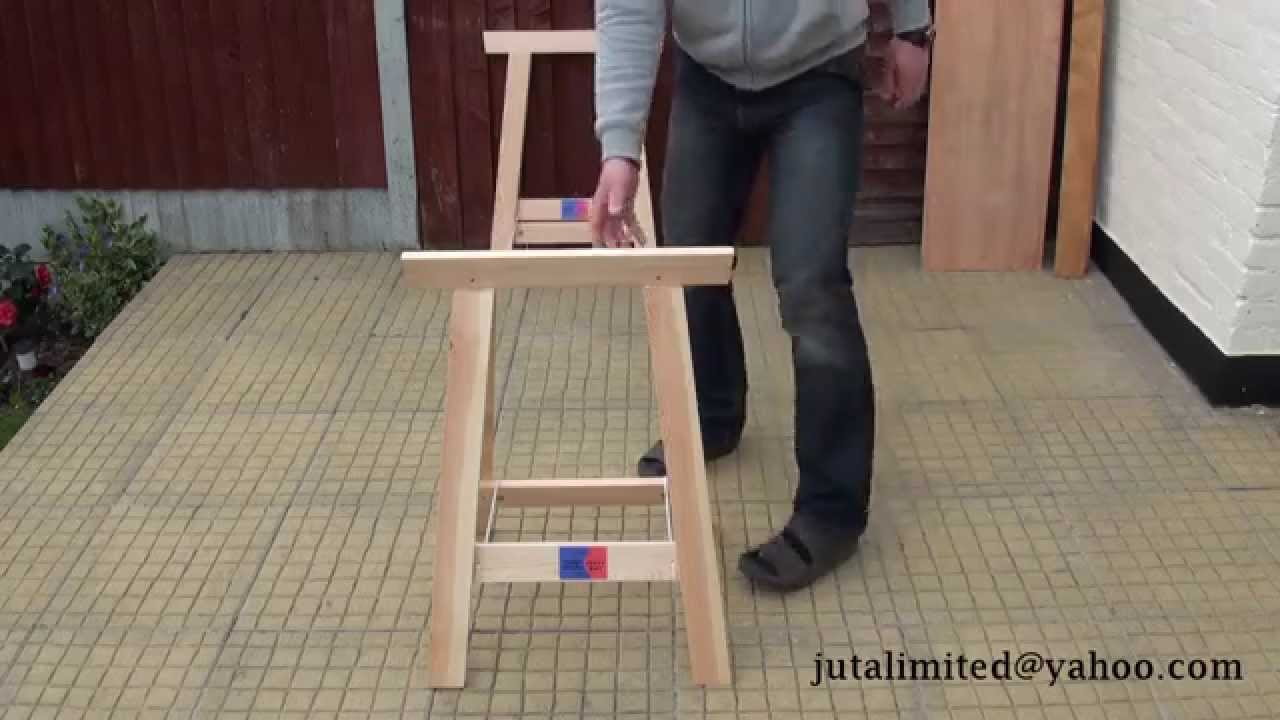 Folding Sawhorse Timber Trestles Woodworkers Benches