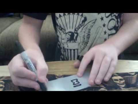How to make a Naruto Headband *Update*