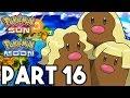 DIGLETT TUNNEL!! Pokemon Sun and Moon Gameplay Walkthrough Part 16 (3DS Pokemon Sun Gameplay)