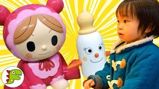 横浜 アンパンマンミュージアムに行ってきたよ❤おでかけ Toy Kids トイキッズ
