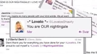 Nightingale Fan Video