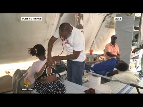 UN 'immune' from Haiti cholera lawsuit