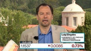 Zingales Says Trade Tensions Put ECB in a Hard Position