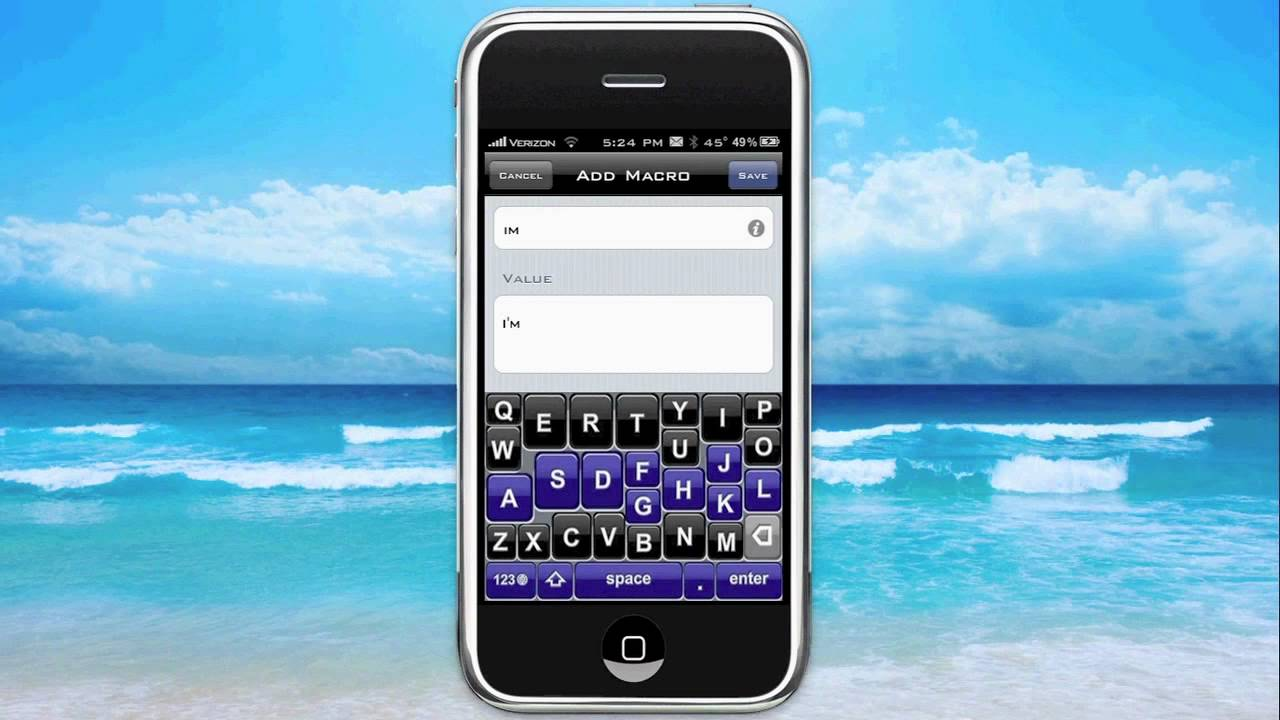 how to change predictive text on iphone