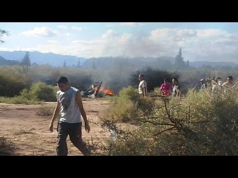 two helicopter crash in argentina,10 killed