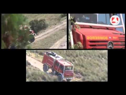 La Comunidad forma a los bomberos en conducción bajo situaciones extremas