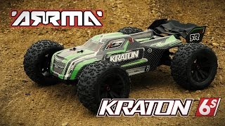 Spotlight: KRATON 6S 1/8 Scale 4WD RTR by ARRMA