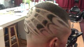 FREESTYLE DESIGN HAIR CUT FADE  King Cuts Barbershop New Bedford, MA