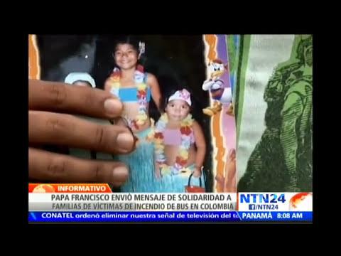 Papa Francisco envía condolencias a familias de niños que fallecieron en Colombia
