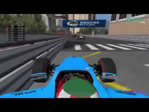 GPVWC 2015 - Downforce Radio Open Series R06 - Monaco GP, Monte Carlo