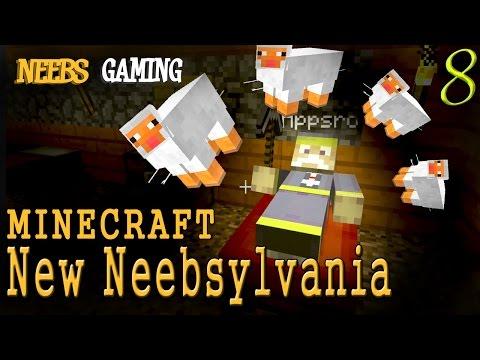 "MINECRAFT - New Neebsylvania 8: ""Sleepless In Neebsylvania"""