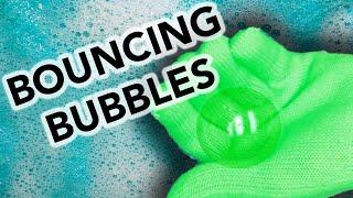 Super Bouncing Bubbles