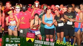 Resumo da Night Run Raveli Sports vídeo novo com Mulher Maravilha e os Vingadores...