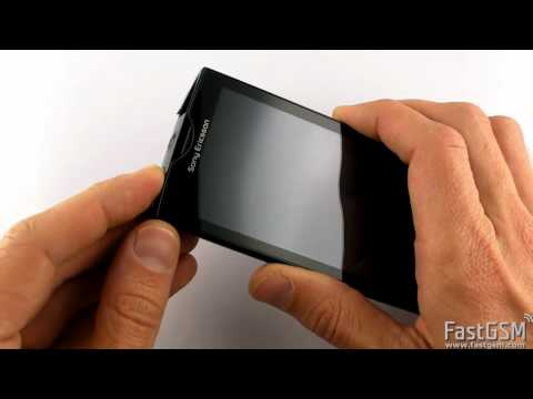 Gesture Lock Reset - Sony Ericsson Xperia X10