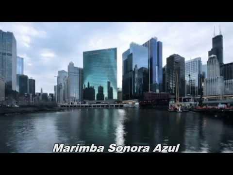 Marimba Sonora Azul con fotos de chicago