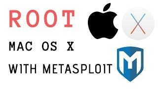 Manually Import Exploit-db Exploit & Use it to Root Apple OS X!