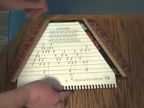 Hail to the Chief, Arranged for Zither / Lap Harp, Played by Debbie Center, World of Harmony Music